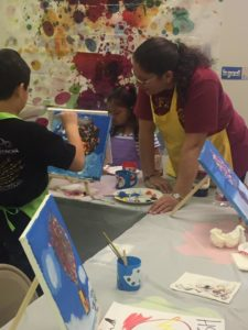 Bilingual summer art classes for kids age 3 to 10 in Katy and Houston